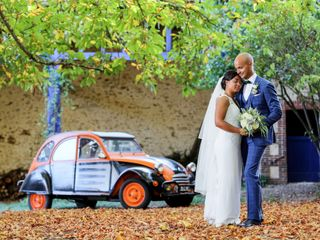 Le mariage de Anja et Marc