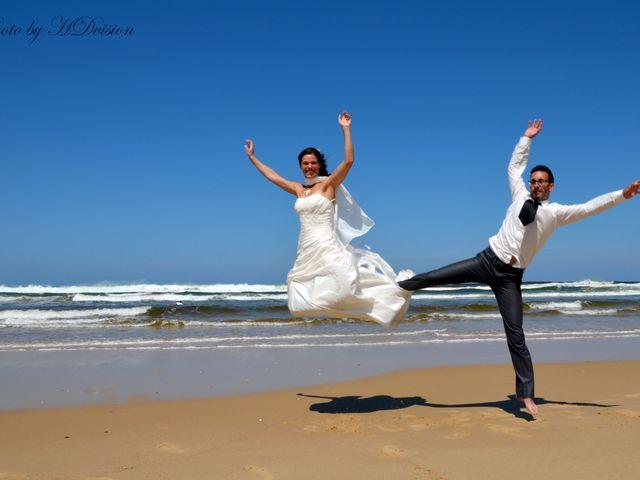 Le mariage de Floriane et Julien à Mimizan, Landes 3