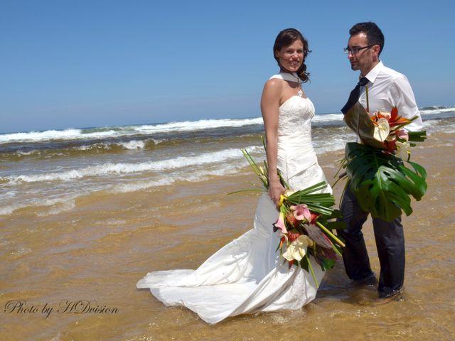 Le mariage de Floriane et Julien à Mimizan, Landes 4