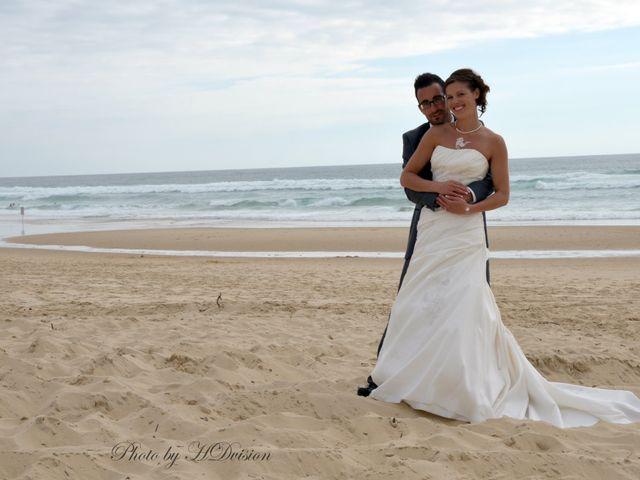Le mariage de Floriane et Julien à Mimizan, Landes 9