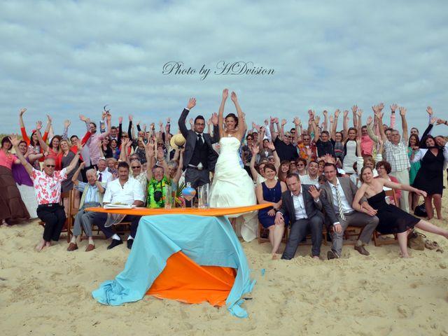 Le mariage de Floriane et Julien à Mimizan, Landes 10