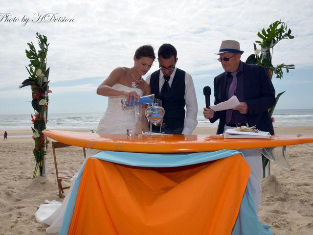 Le mariage de Floriane et Julien à Mimizan, Landes 11