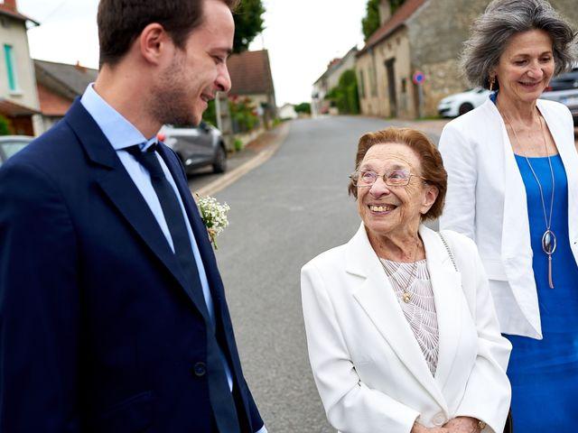 Le mariage de Fabien et Lison à Vichy, Allier 9