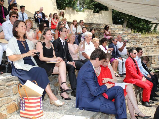 Le mariage de Florent et Sandra à Cavalière, Var 2