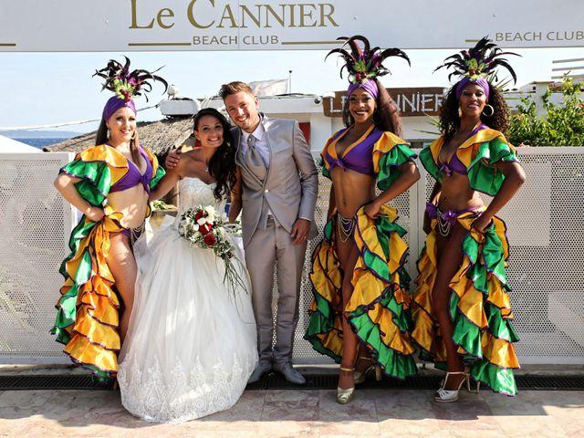 Le mariage de Florent et Sandra à Cavalière, Var 17