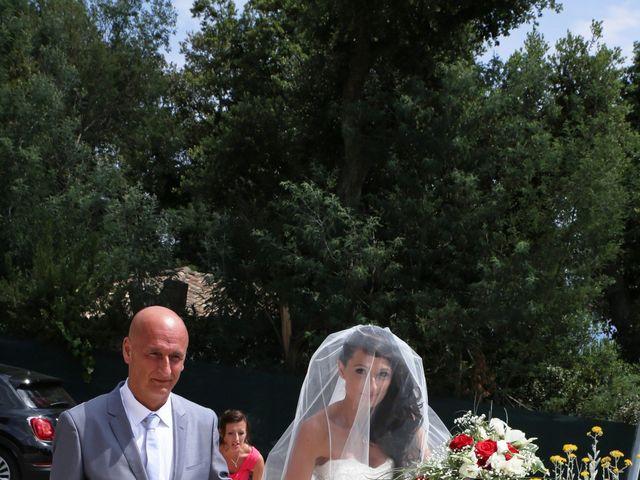 Le mariage de Florent et Sandra à Cavalière, Var 45