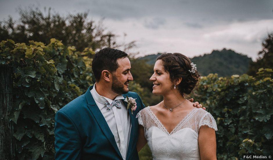 Le mariage de Maxime et Lucie à Gan, Pyrénées-Atlantiques
