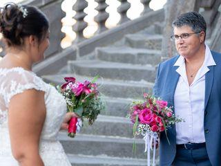 Le mariage de Stephanie et  Anne