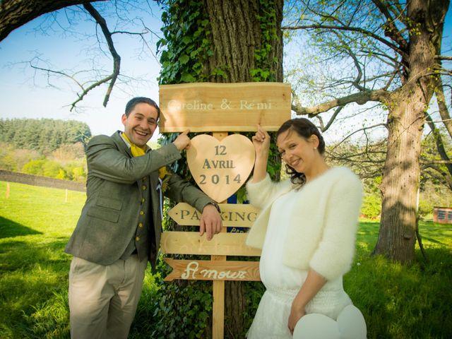 Le mariage de Rémi et Caroline à Saint-Martin-la-Plaine, Loire 1