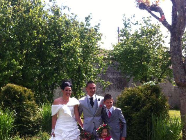 Le mariage de Emilie et Sylvain à Sémussac, Charente Maritime 6