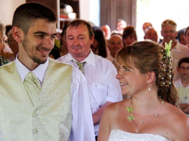 Le mariage de Dionysse et Kevin à Villeneuve-d'Allier, Haute-Loire 2