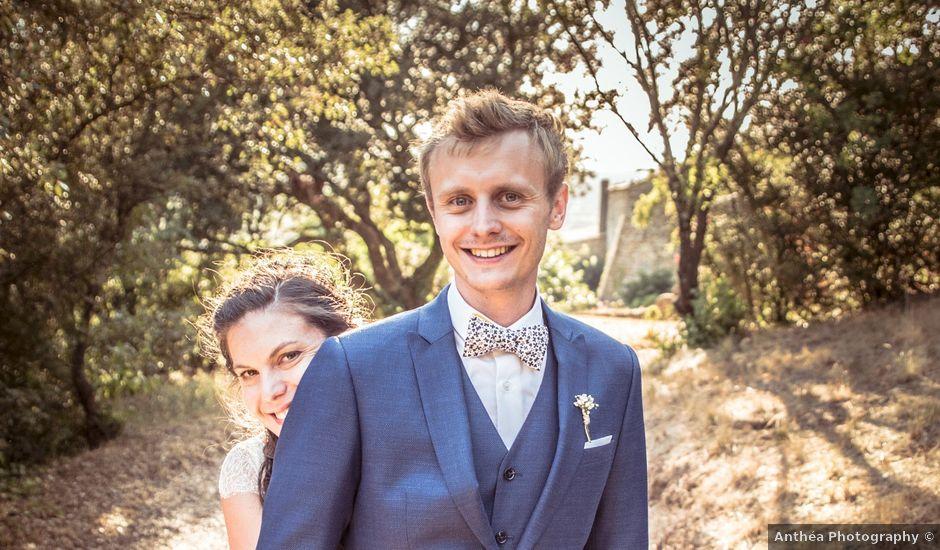 Le mariage de Thomas et Claire à Bagnols-sur-Cèze, Gard