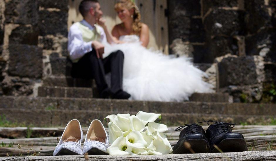 Le mariage de Dionysse et Kevin à Villeneuve-d'Allier, Haute-Loire