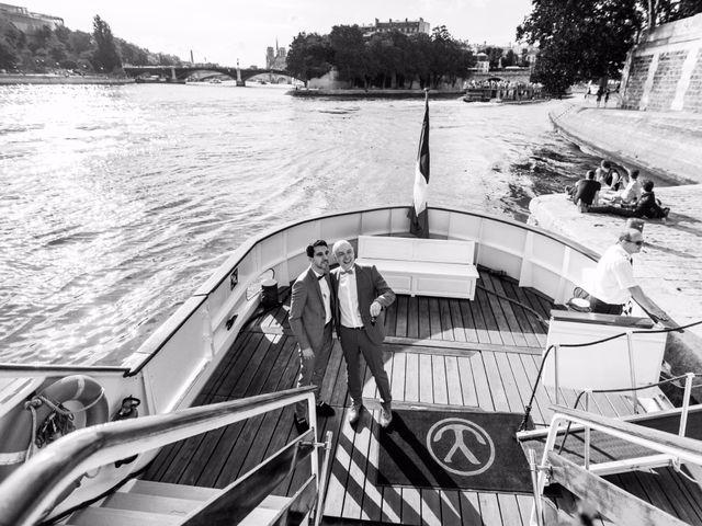Le mariage de Hughes et Patrick à Paris, Paris 62