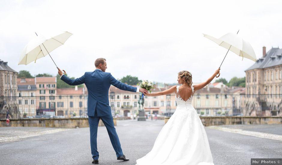 Le mariage de Jean-Olivier et Justine à Lunéville, Meurthe-et-Moselle