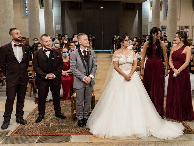 Le mariage de Vanessa et Nicolas à Saint-Priest, Rhône 62