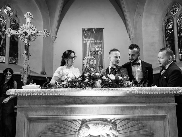 Le mariage de Vanessa et Nicolas à Saint-Priest, Rhône 64