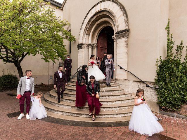 Le mariage de Vanessa et Nicolas à Saint-Priest, Rhône 77