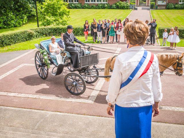 Le mariage de Jason et Marine à Bouville, Seine-Maritime 16