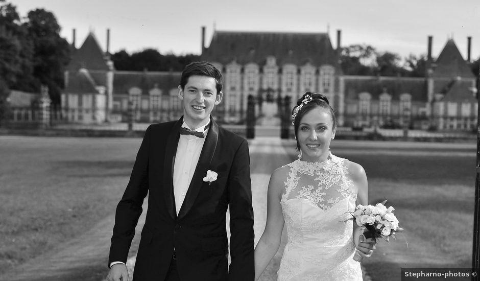 Le mariage de Christophe et Justine à Le Neubourg, Eure