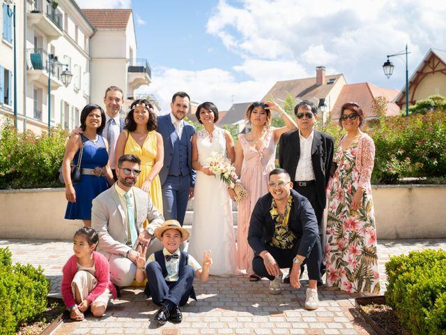 Le mariage de Julien et Davone à Vigny, Val-d'Oise 20