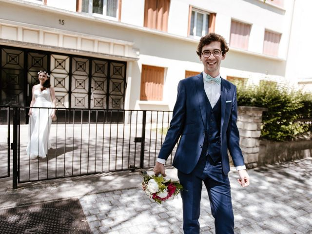 Le mariage de Olivier et Lucie à Vincennes, Val-de-Marne 9