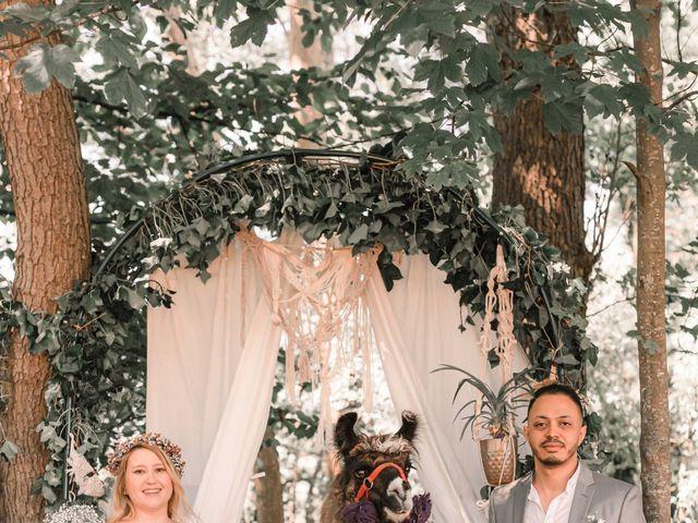 Le mariage de Hakim et Catalina à Erstein, Bas Rhin 3