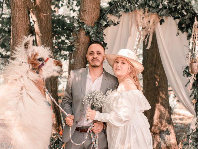 Le mariage de Hakim et Catalina à Erstein, Bas Rhin 2