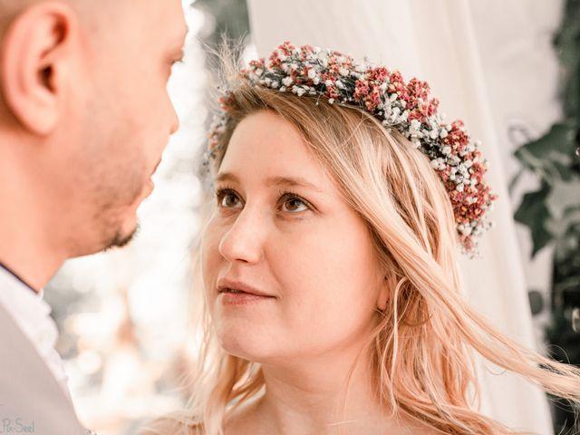 Le mariage de Hakim et Catalina à Erstein, Bas Rhin 11