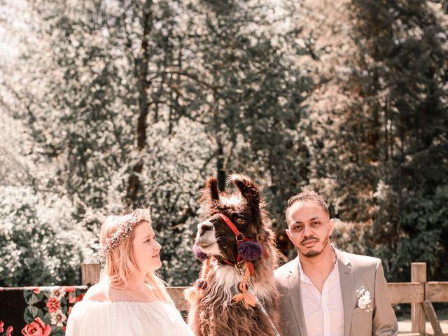 Le mariage de Hakim et Catalina à Erstein, Bas Rhin 15