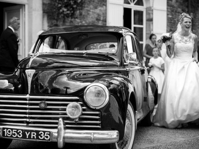 Le mariage de Vincent et Barbara à Bourg-des-Comptes, Ille et Vilaine 22