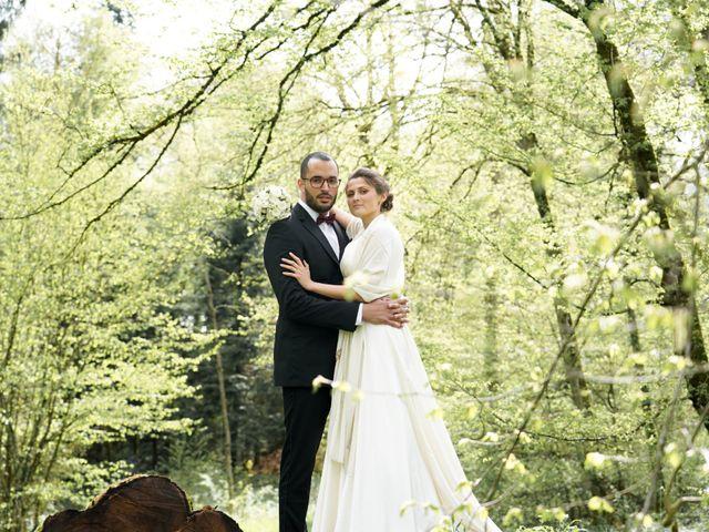 Le mariage de Mamoun et Jennifer à La Châtelaine, Jura 16