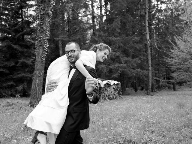 Le mariage de Mamoun et Jennifer à La Châtelaine, Jura 17