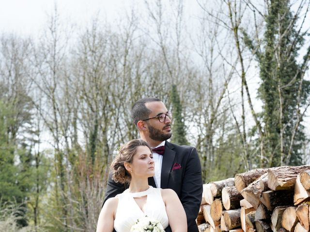 Le mariage de Mamoun et Jennifer à La Châtelaine, Jura 18