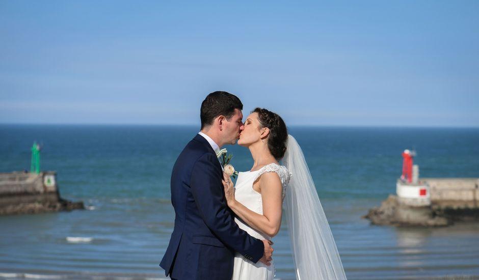 Le mariage de Guillaume et Katie à Port-en-Bessin-Huppain, Calvados