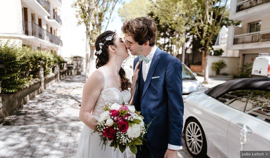 Le mariage de Olivier et Lucie à Vincennes, Val-de-Marne