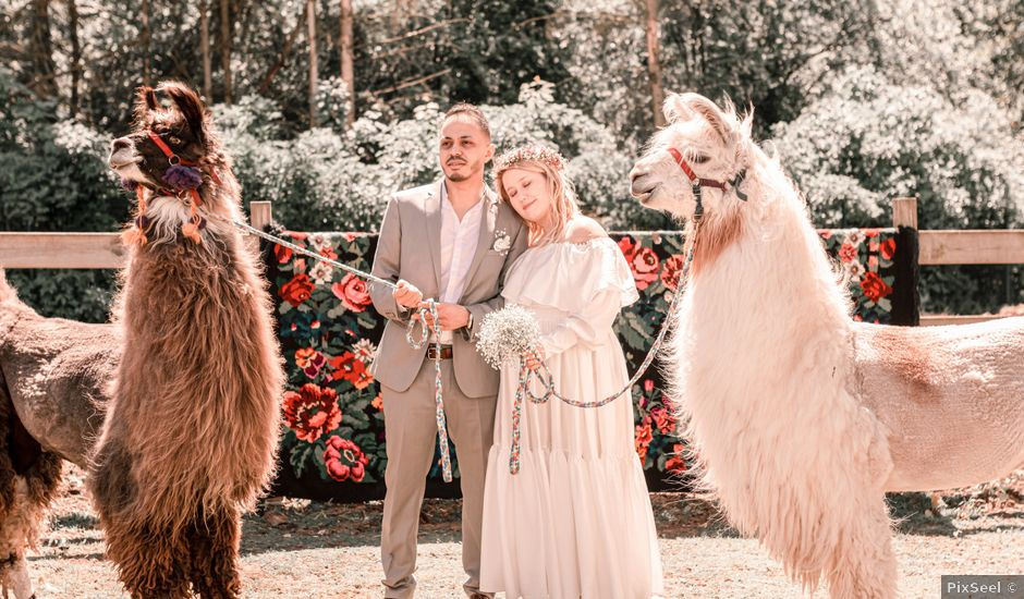 Le mariage de Hakim et Catalina à Erstein, Bas Rhin