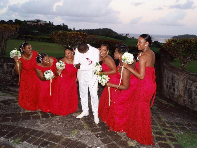 Le mariage de Claudine et Dominique  à Gros-Morne, Martinique 1
