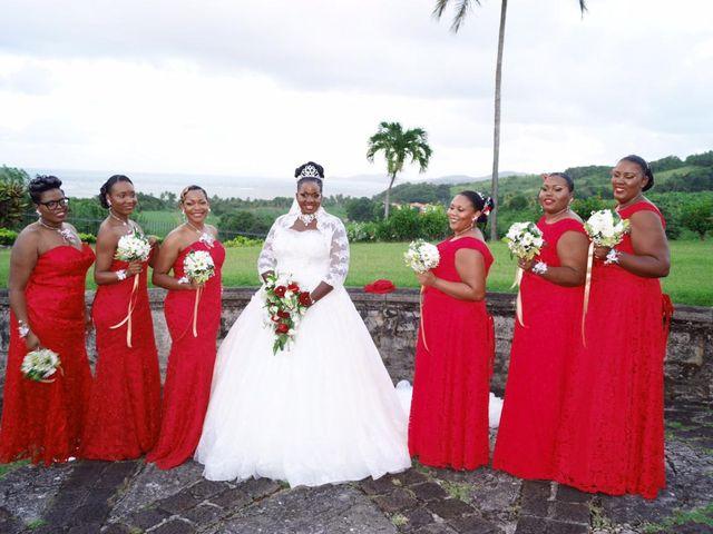 Le mariage de Claudine et Dominique  à Gros-Morne, Martinique 2