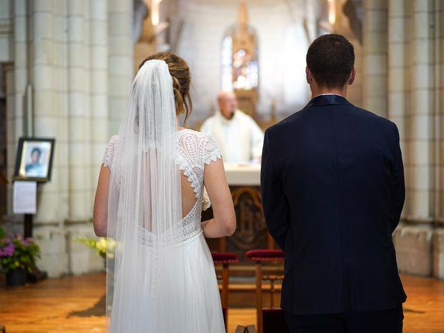 Le mariage de Benjamin et Lucie à Langeais, Indre-et-Loire 4