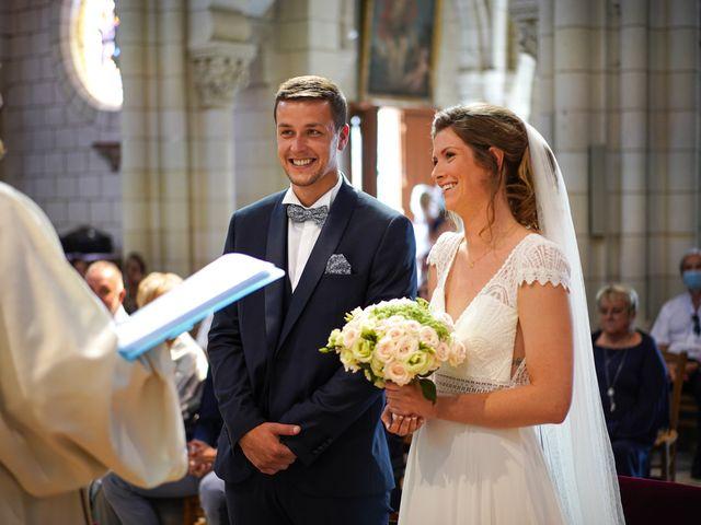 Le mariage de Benjamin et Lucie à Langeais, Indre-et-Loire 6