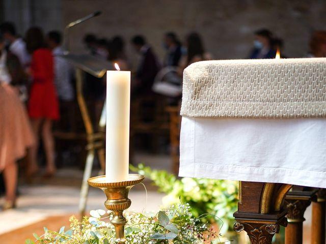 Le mariage de Benjamin et Lucie à Langeais, Indre-et-Loire 11