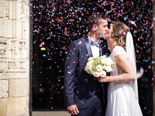 Le mariage de Benjamin et Lucie à Langeais, Indre-et-Loire 2