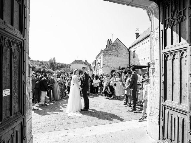 Le mariage de Benjamin et Lucie à Langeais, Indre-et-Loire 14