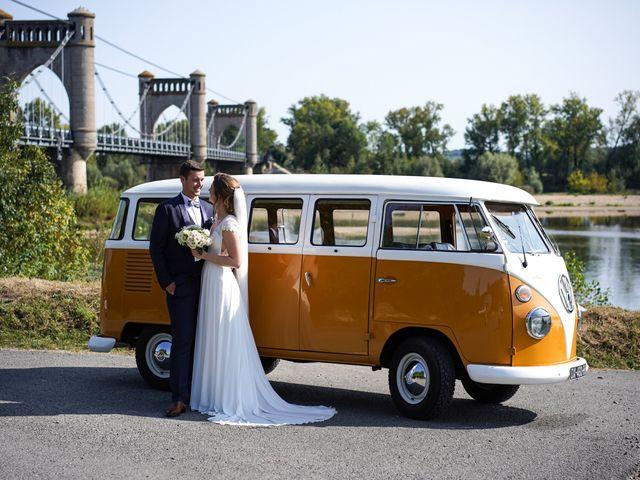 Le mariage de Benjamin et Lucie à Langeais, Indre-et-Loire 16