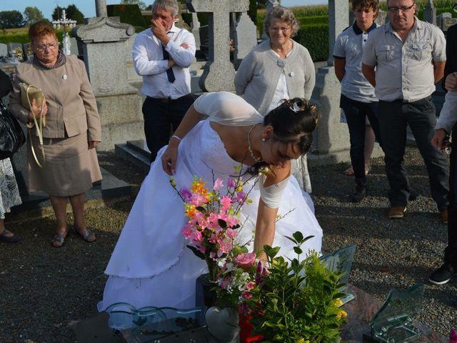 Le mariage de Jonathan  et Audrey à Saint-Étienne-en-Coglès, Ille et Vilaine 10