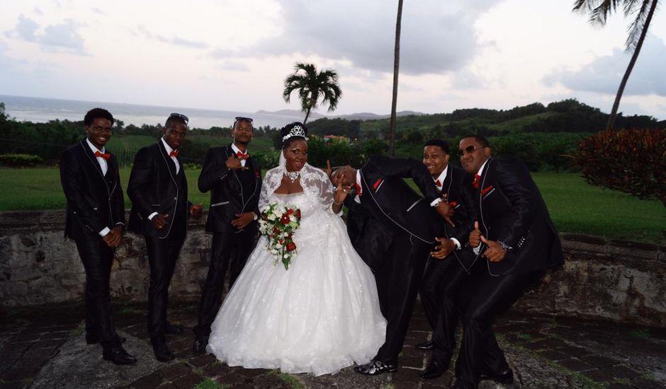 Le mariage de Claudine et Dominique  à Gros-Morne, Martinique