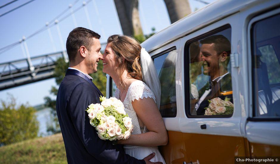 Le mariage de Benjamin et Lucie à Langeais, Indre-et-Loire