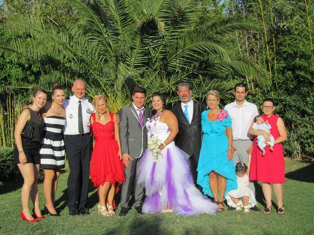 Le mariage de Romain et Aurore à Marguerittes, Gard 16