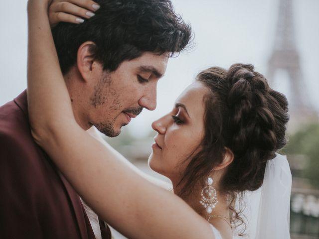 Le mariage de Fabrice et Valeria à Paris, Paris 18